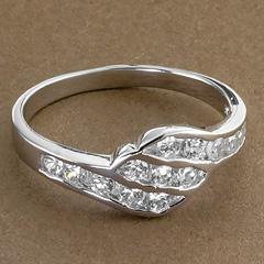 Srebrny pierscionek - 16240 16240