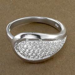Srebrny pierscionek - 15749 15749