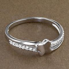 Srebrny pierscionek - 16309 16309