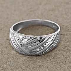 Srebrny pierscionek - 401-401: zdjęcie 4