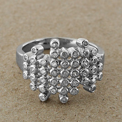 Srebrny pierscionek - 6296-6296: zdjęcie 1